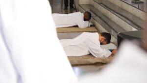 Ordinazione diaconale dei religiosi Adhemar Aparecido Silva dos Santos e Aimé Lukumu Kabeya. (30/08)