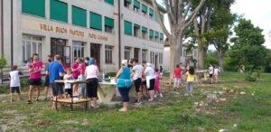 La Villa Buon Pastore dei Padri Cavanis a Fietta. Dall'8 al 14 luglio abbiamo avuto il campo scuola.